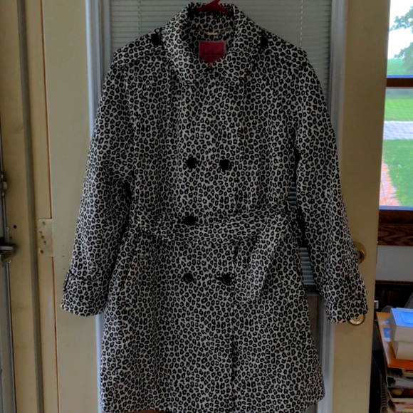 Kate Spade Leopard Print Coat  M